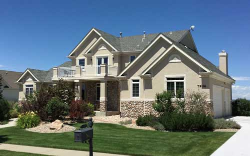 home re-side in Denver Colorado by Mountain View Corporation