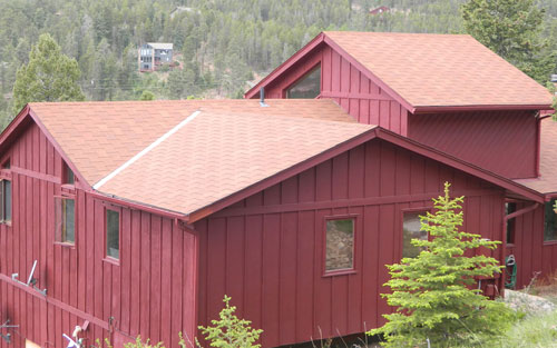 home roofing and gutter installation and repair in Boulder Colorado by Mountain View Corporation