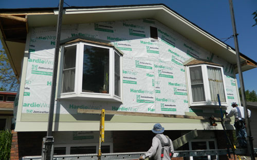 home siding contractor in Lakewood Colorado by Mountain View Corporation