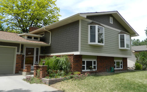 Home exteriors and siding in denver colorado by mountain view corporation