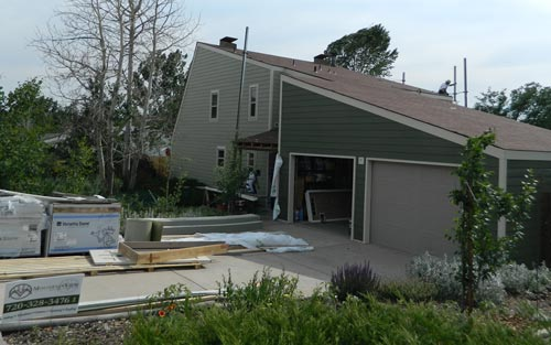 Home siding in Denver Colorado by Mountain View Corporation