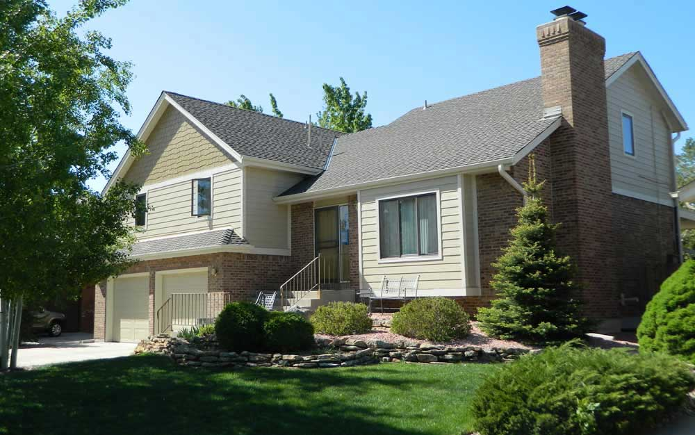 James Hardie siding in Arvada Colorado by Mountain View Corporation